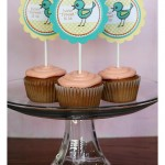 cupcake topper {free download}