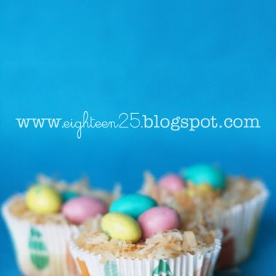 Cheesecake Bird's Nests