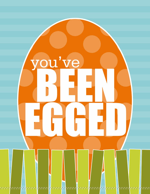 graphic relating to You've Been Egged Printable titled youve been egged cost-free down load - 1825