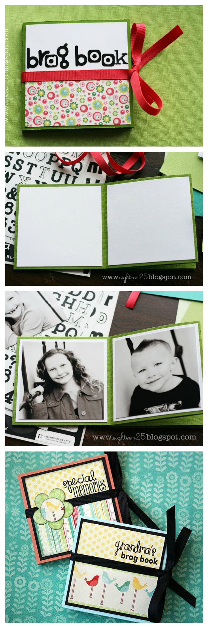 DIY Brag Book | Fun Paper Craft Ideas