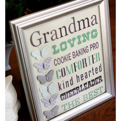 A gift for Grandma