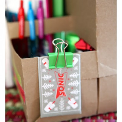 the gift wrap caddy