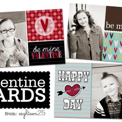 Custom Valentine's Photo Cards