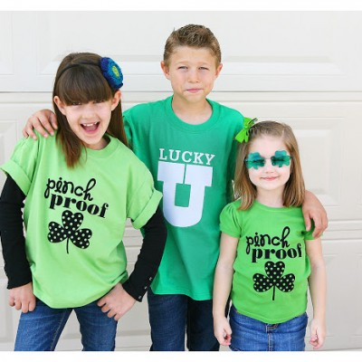 [Silhouette Project] st. patrick's t-shirts
