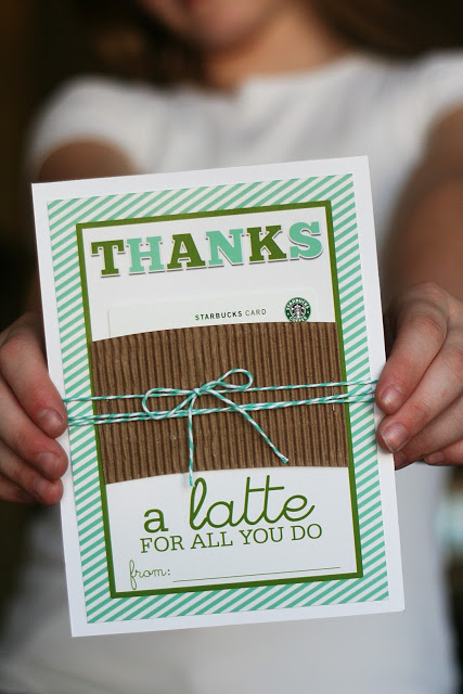 Thanks A Latte Printable | Free Printable Thanks a Latte For All You Do Card