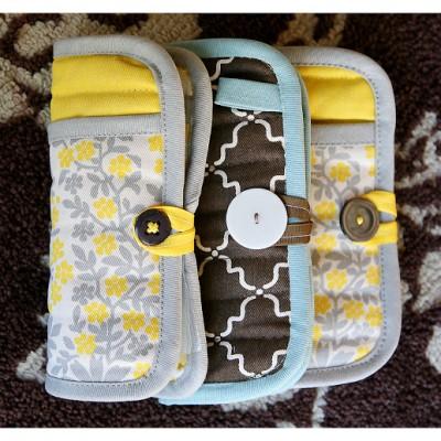 a girl's emergency clutch