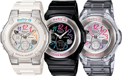 {baby-g watches} making a list