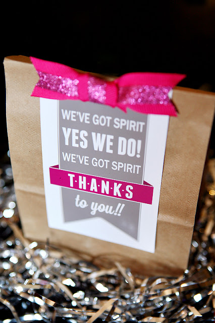 Fun tags for your Cheer Gift Ideas