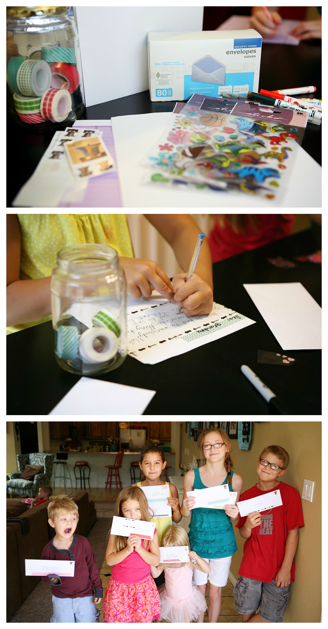 Kids Activity | Writing Letters... So simple, but the kids LOVE it!