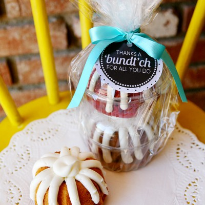 "Thanks a ""Bundt""ch"