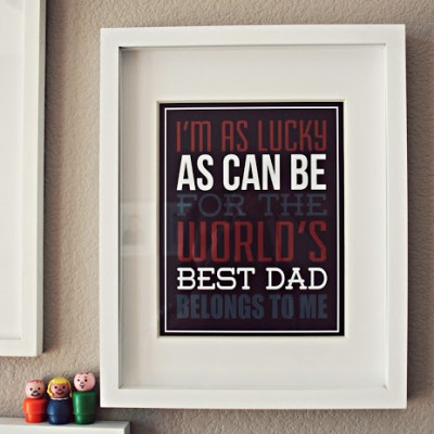 Father's Day Print