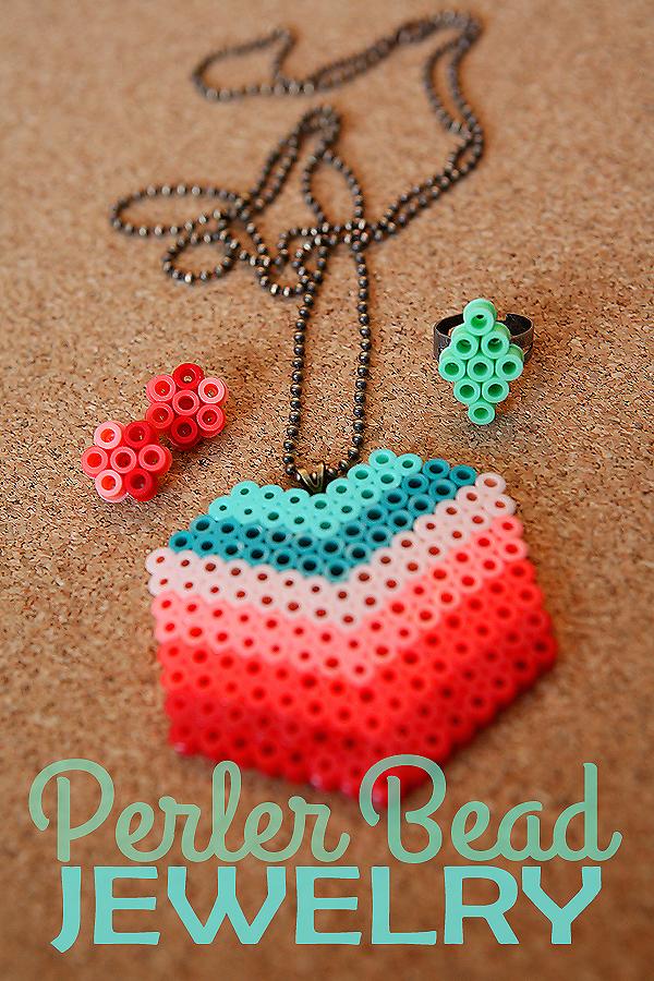 Perler Bead Jewelry - Eighteen25