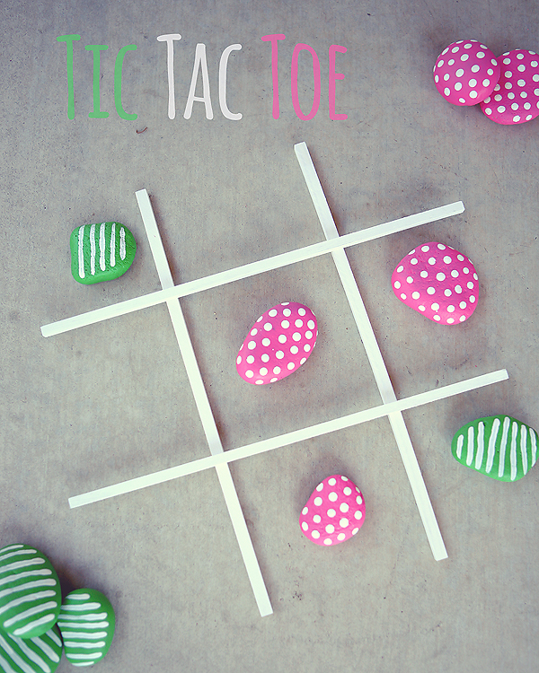 DIY Tic Tac Toe game | So super cute and very easy to make!