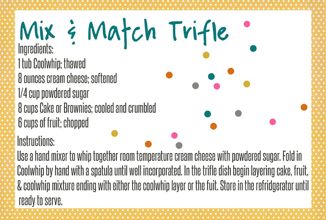 Mix & Match Trifle