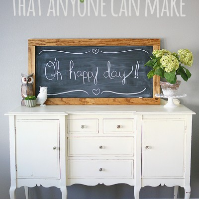 Super Simple XL Chalkboard