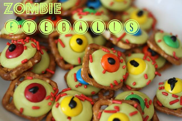 Zombie Eyeballs Halloween Treat