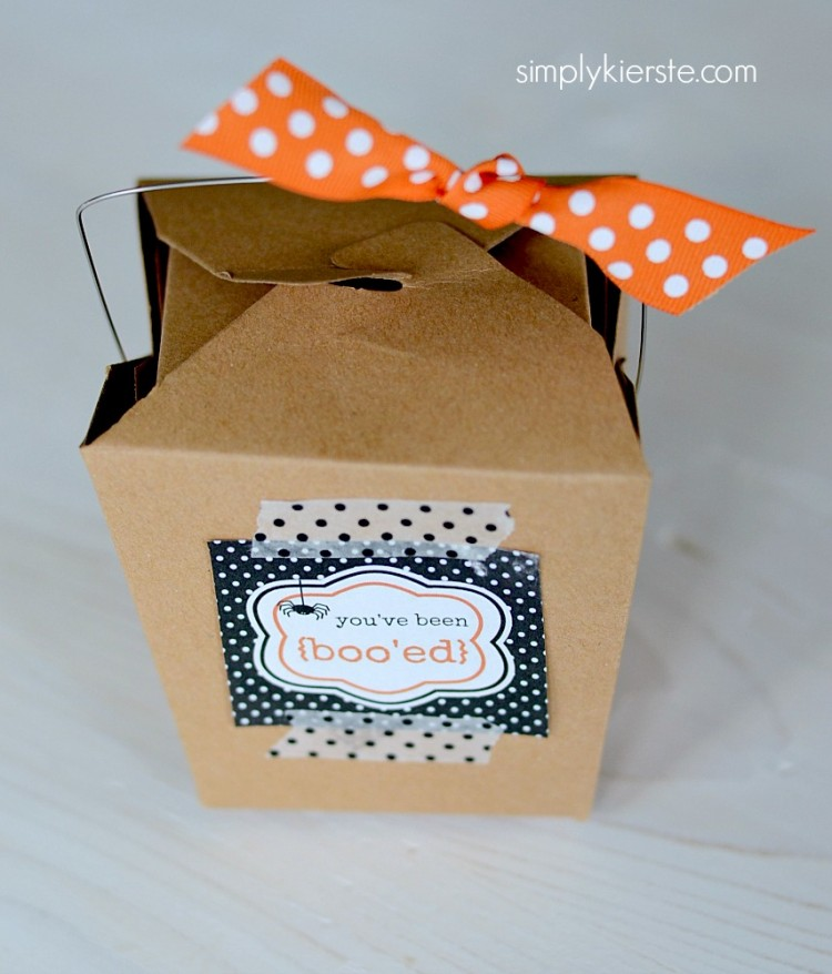Free Printables for the You've Been Booed Halloween Tradition
