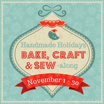 Bake, Craft & Sew Along GIVEAWAY + Christmas Tags