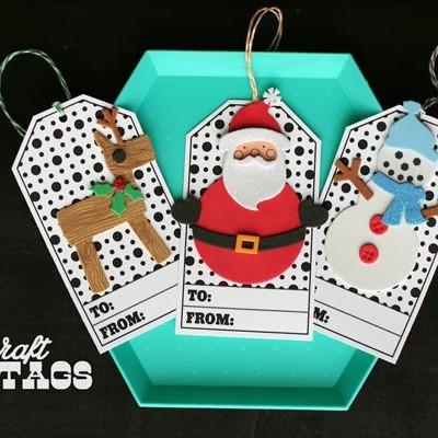 Kid's Craft // Christmas Gift Tags