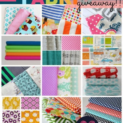 The FABRIC Giveaway of the year!