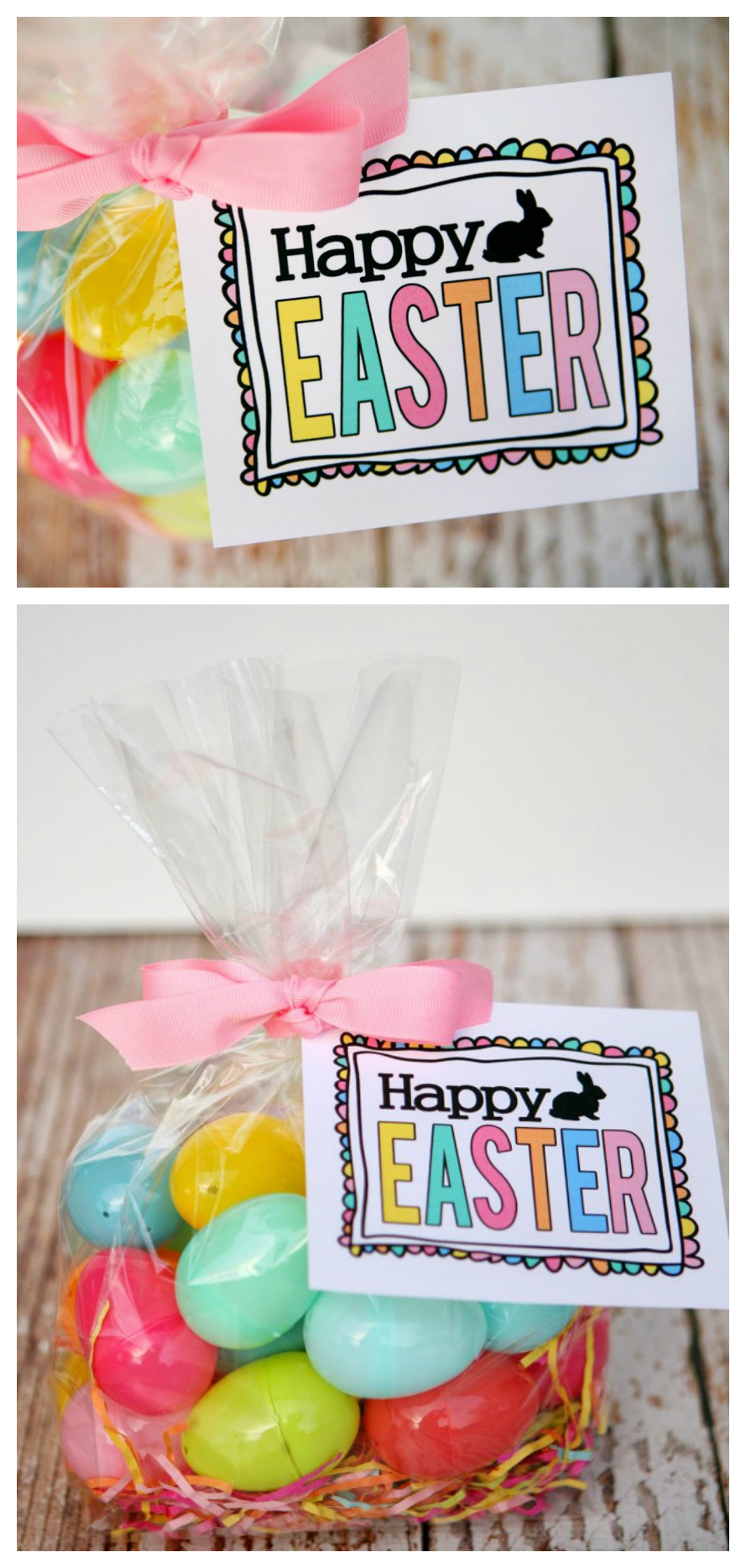 Free Printable Happy Easter Tags | Easter Gift Ideas