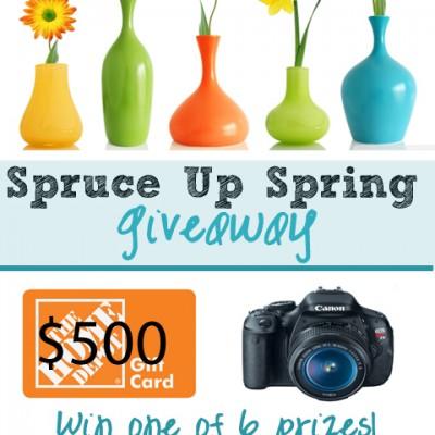 Huge Spring Spruce Up Giveaway!
