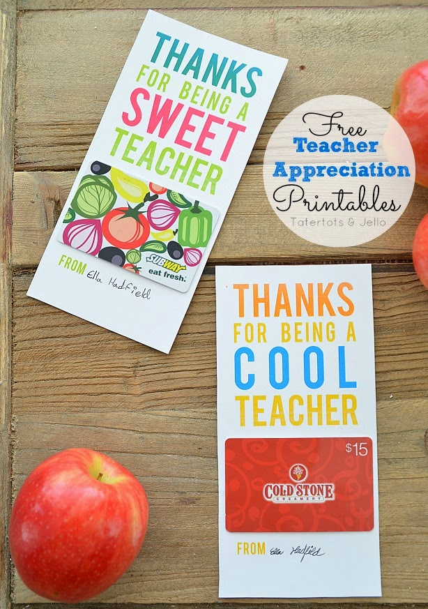 You Gotta See This Teacher Appreciation Ideas