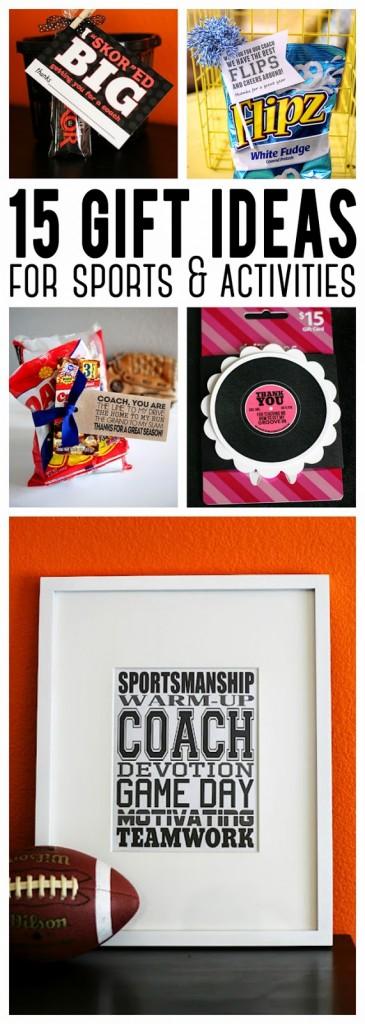 Baseball Coach Gift Tags  sc 1 st  Eighteen25 & 15 Gift Ideas For Sports u0026 Activities - Eighteen25