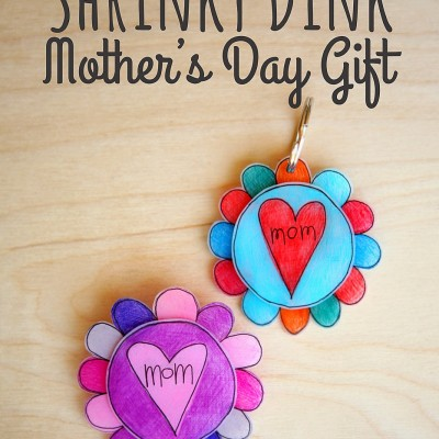 Shrinky Dinks Mother's Day Gift