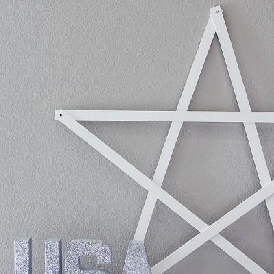 4th of July Yardstick Star