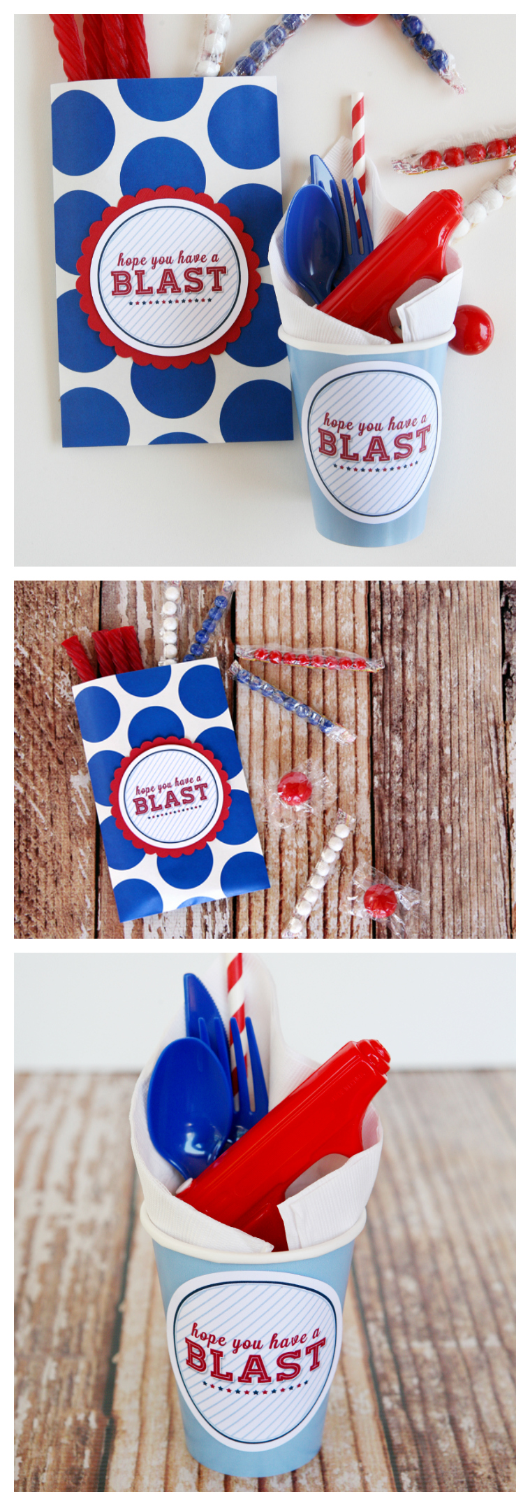 4th of July Party Printables | Hope You Have a Blast