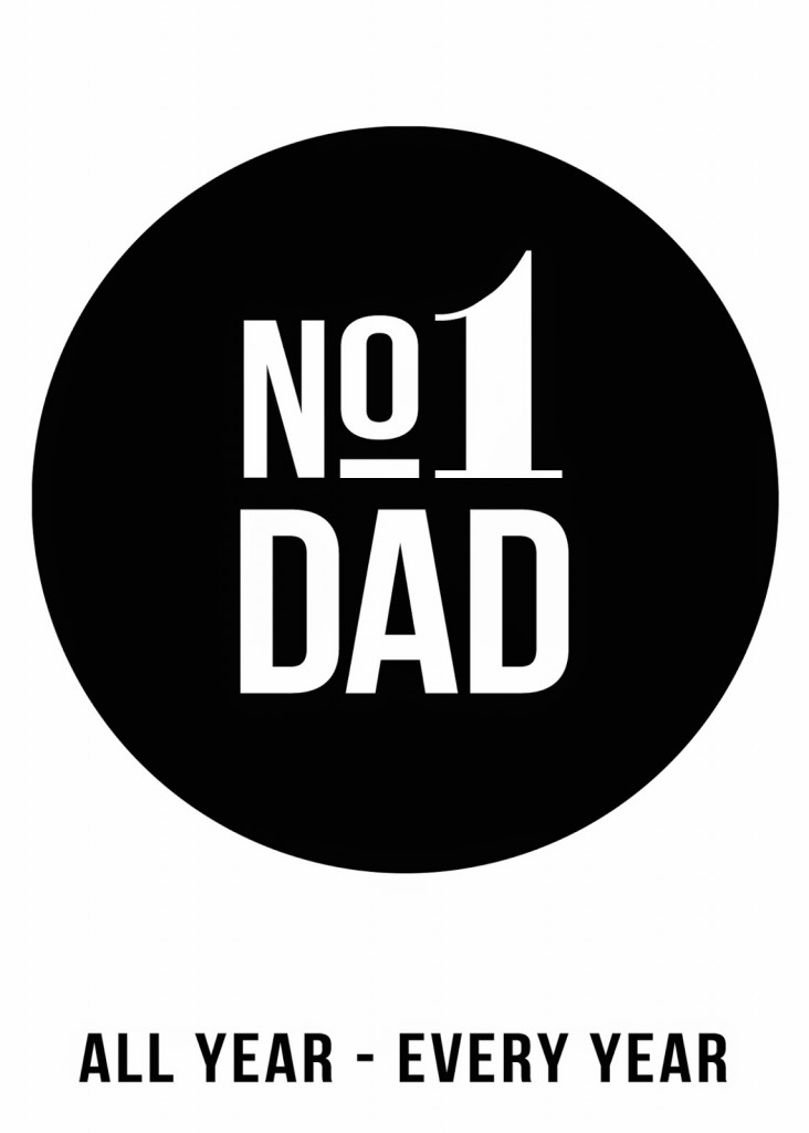 Father S Day No 1 Dad Easel Eighteen25