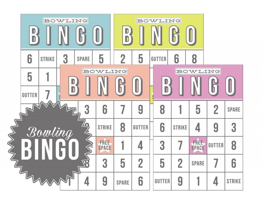 Bowling Bingo Free Download Eighteen25