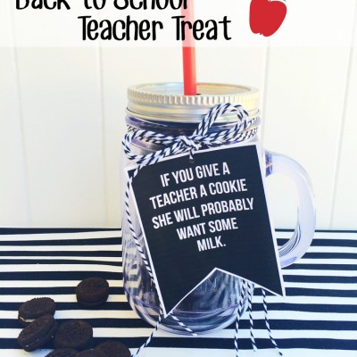 Back to School  Teacher Treat