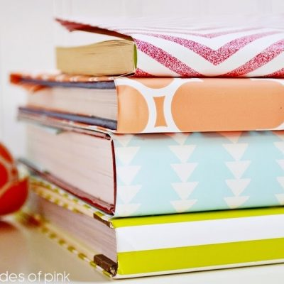 Wrapping Paper Book Covers