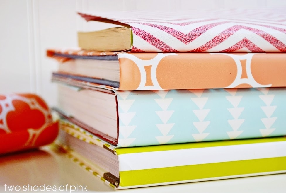 Wrapping Paper Book Covers - Eighteen25