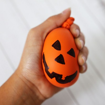 DIY Halloween Stress Ball