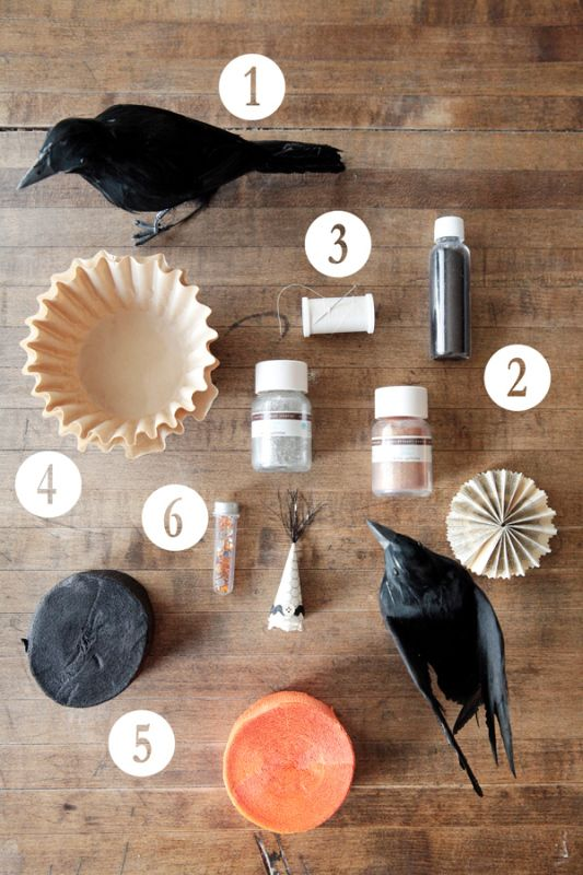 Supplies for Elizabethan Crows