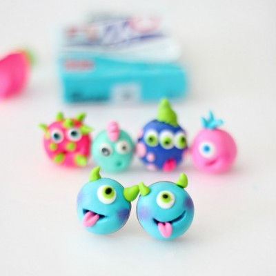 Friendly Monster Earrings