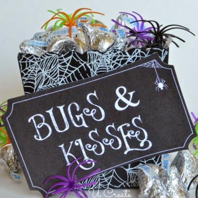 Bugs & Kisses Halloween Printable