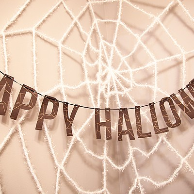 Happy Halloween Printable Banner
