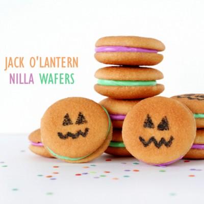 Jack O'Lantern Nilla Wafers