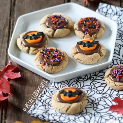Peanut Butter Sprinkle Cookies