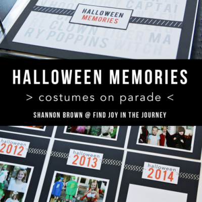 Halloween Memories Album