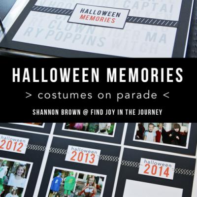 Halloween Memories Album