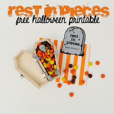 Rest In Pieces – A Free Halloween Printable