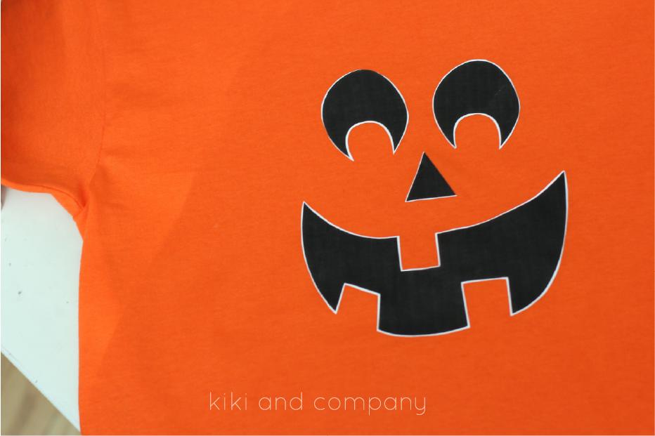 DIY Halloween shirts for kids