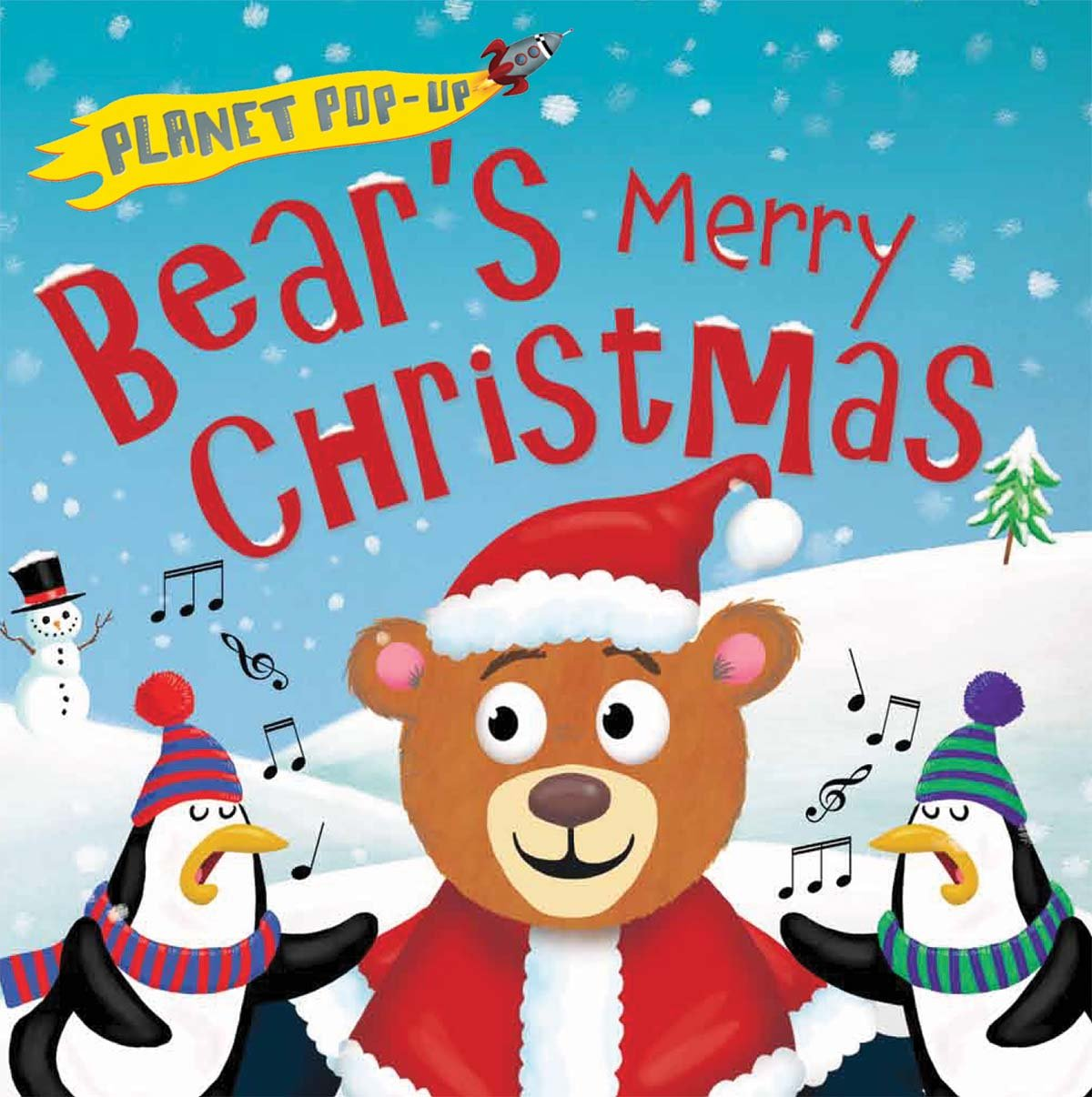 Bear's Merry Christmas Pop-Up Book