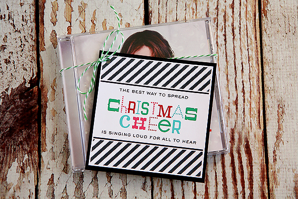The Best Way To Spread Christmas Cheer Printable Tags