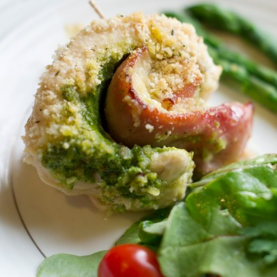 Chicken Pesto Cordon Bleu